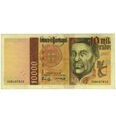10000 Escudos - Portugal 1996-98 Bela