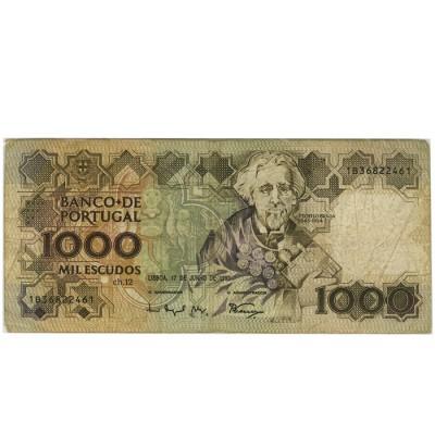 1000 Escudos - Portugal 1983-94 Nova