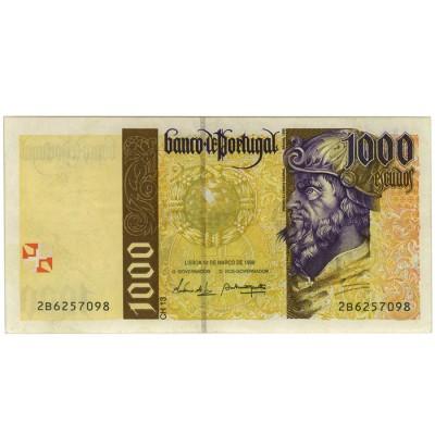 1000 Escudos - Portugal 1996-00 Bela