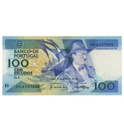 100 Escudos - Portugal 1986-88 Bela