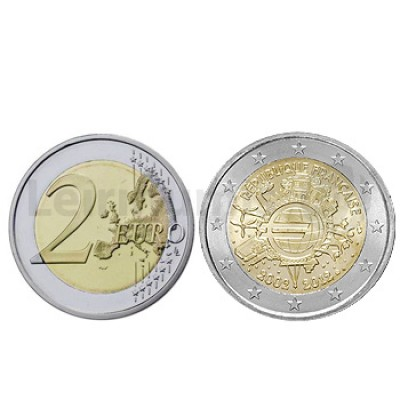 moedas comemorativas 2 euros fran a. Black Bedroom Furniture Sets. Home Design Ideas