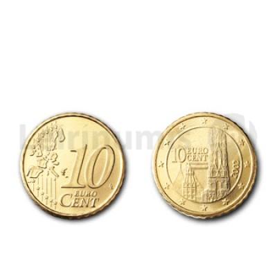 10 Centimos - Austria 2002