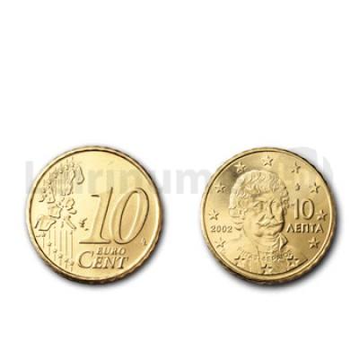 10 Centimos - Grecia 2002