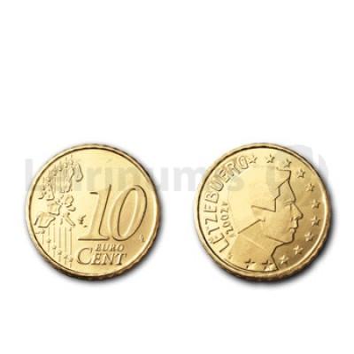 10 Centimos - Luxemburgo 2002