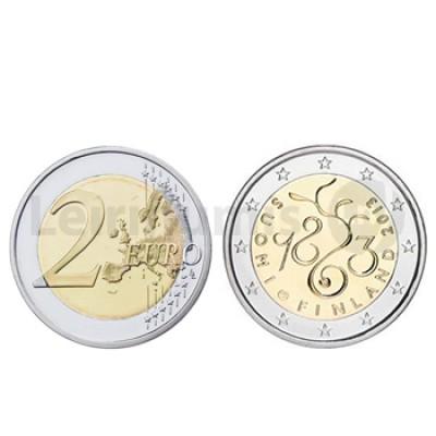 2 Euros 150 Anos do Parlamento Finlândia 2013