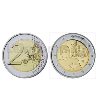 2 Euros Franc Rozman Eslovénia 2011
