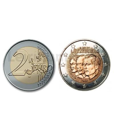 2 Euros Gran Duque Jean Luxemburgo 2011