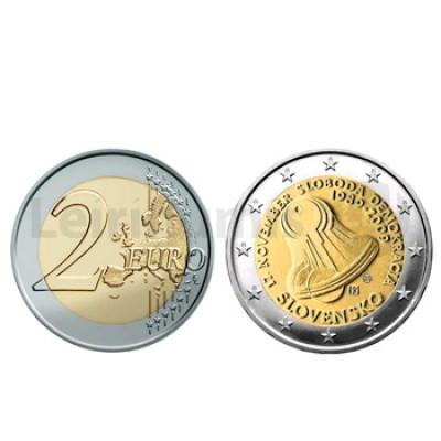 2 Euros Liberdade e Democracia Eslováquia 2009