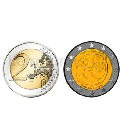 2 Euros 10 Aniversário da UEM Finlandia 2009