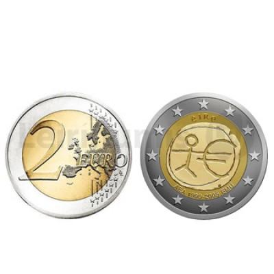 2 Euros 10 Aniversário da UEM Irlanda 2009
