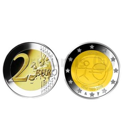2 Euros 10 Aniversário da UEM Malta 2009