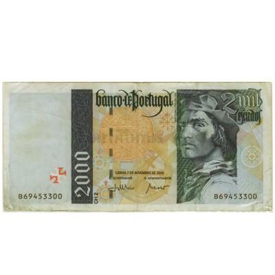 2000 Escudos - Portugal 1995-00 Bela