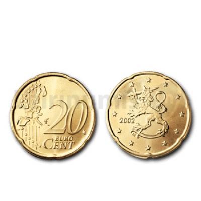20 Centimos - Finlandia 2002