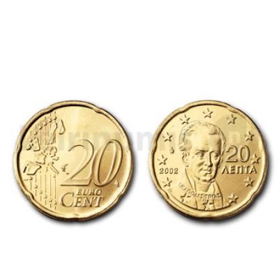 20 Centimos - Grecia 2002