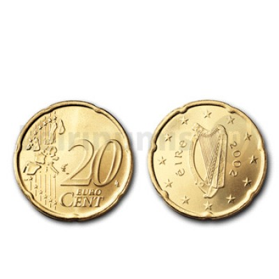 20 Centimos - Irlanda 2007