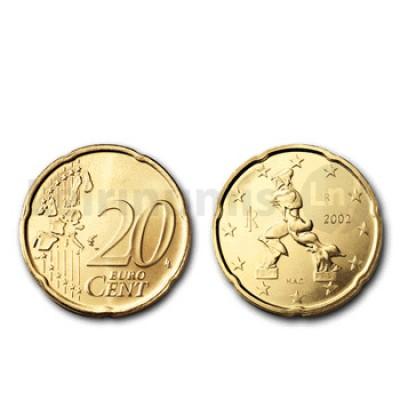 20 Centimos - Italia 2002