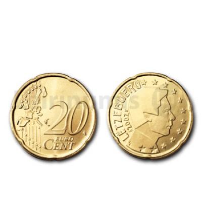 20 Centimos - Luxemburgo 2008