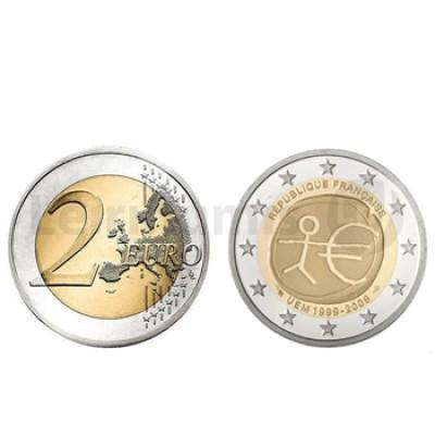 2 Euros 10 Aniversário da UEM França 2009