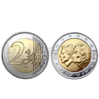 2 Euros Belux Bélgica/Luxemb. 2005