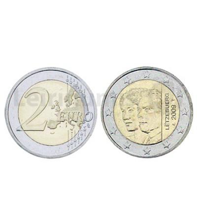 2 Euros Duquesa Charlotte Luxemburgo 2009