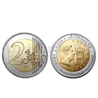 2 Euros Grão Duque Henrique Luxemburgo 2004