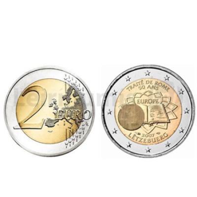 2 Euros Tratado de Roma Luxemburgo 2007