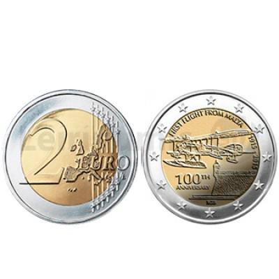 2 Euros 100 Aniversário da Aviação - Malta 2015