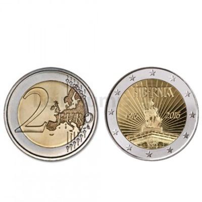 Moeda 2 Euro Irlanda 2016 100 Anos de Republica
