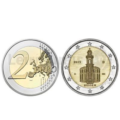 2 Euros Igreja São Paulo - Alemanha 2015 A