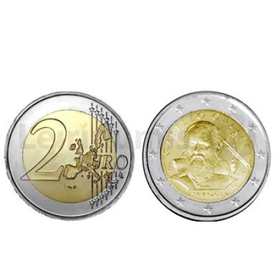 2 Euros 450 anos Nascimento Galileu Galilei Italia 2014