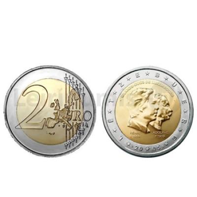 2 Euros Henri e Albert II Luxemburgo 2005