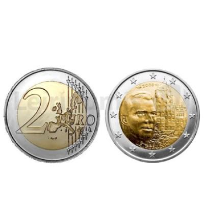2 Euros Castelo de Berg Luxemburgo 2008