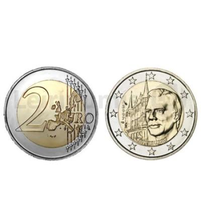 2 Euros Palácio Ducal Luxemburgo 2007