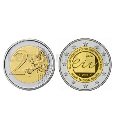 2 Euros Presidencia UE Bélgica 2010