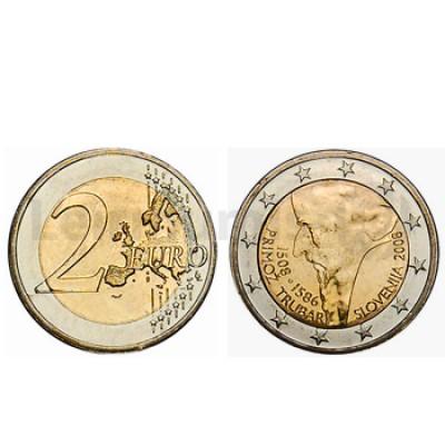 2 Euros Primoz Trubar Eslovenia 2008