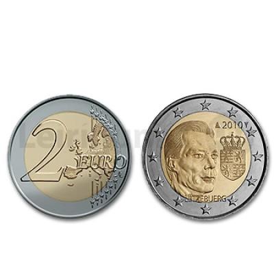 2 Euros Príncipe Henry Brasão Luxemburgo 2010