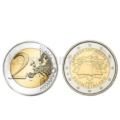 2 Euros Tratado Roma Finlandia 2007