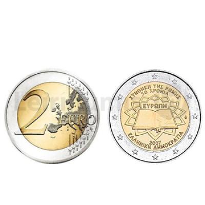 2 Euros Tratado Roma Grécia 2007
