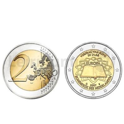 2 Euros Tratado Roma Holanda 2007