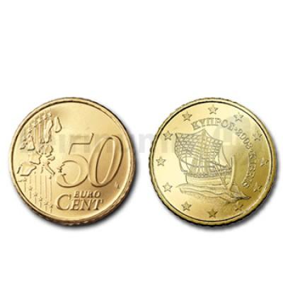 50 Centimos - Chipre 2008