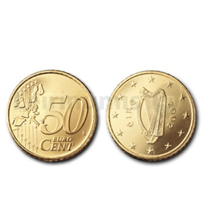 50 Centimos - Irlanda 2004