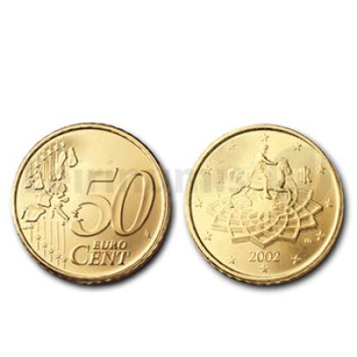 50 Centimos - Italia 2002