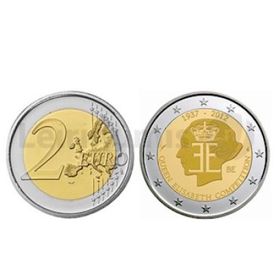 2 Euros 75 Anos Concurso Musica Rainha Elisabeth Bélgica 2012