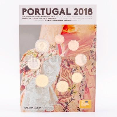 Carteira FDC - Portugal 2018