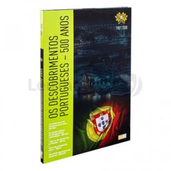 Álbum Arquivador Moedas 500 Anos Descobrimentos Portugueses com 44 caixas/cápsulas