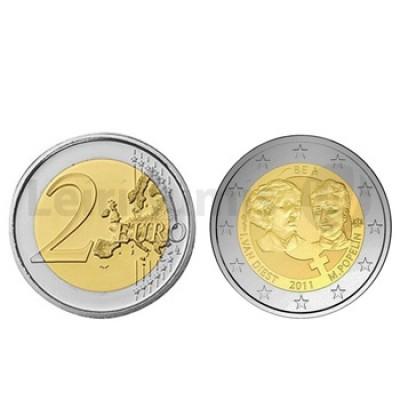 2 Euros Ano Internacional da Mulher Bélgica 2011