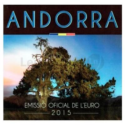 BNC - Andorra 2015 (8 Moedas 1 cent a 2 euros)