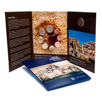 Carteira BNC Malta 2016 c/9 moedas Mint mark F