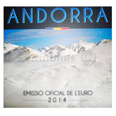 BNC - Andorra 2014 (8 Moedas)