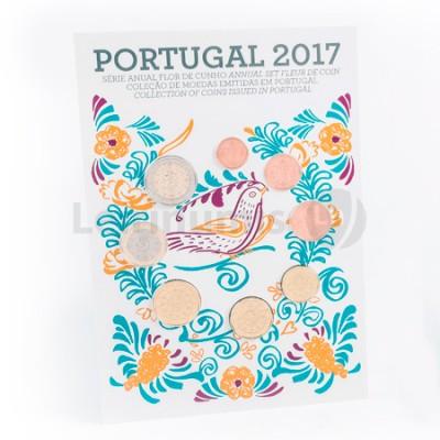 Carteira FDC - Portugal 2017